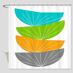 Mid Century Modern Shower Curtain