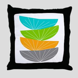 Mid Century Modern Throw Pillow