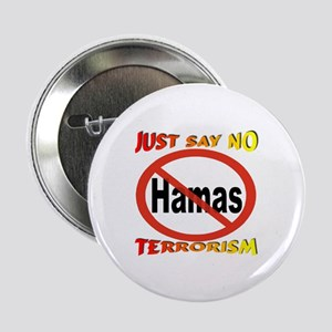 "No Hamas International Symbol 2.25"" Button"