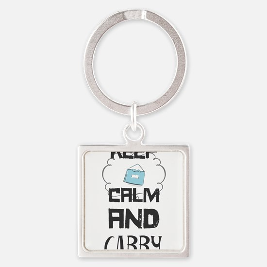 Keep Calm and Carry Keychains
