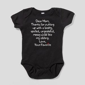The Favorite Child Baby Bodysuit