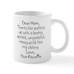 The Favorite Child Mugs