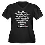 The Favorite Child Plus Size T-Shirt