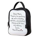 The Favorite Child Neoprene Lunch Bag