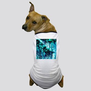The Perfect Storm - Turquoise and Blac Dog T-Shirt