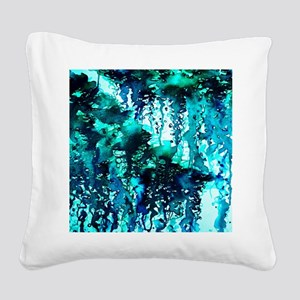 The Perfect Storm - Turquoise and Black, Abstract