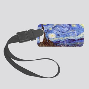 Van Gog The Starry NIght Tassel  Small Luggage Tag