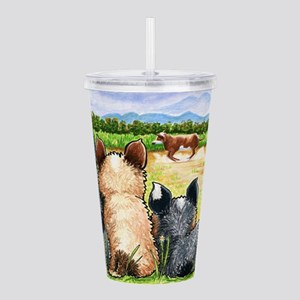 First Lesson Acrylic Double-wall Tumbler