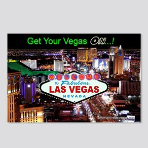 Las Vegas Strip Postcards (Package of 8)