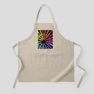 Crayon Color Wheel Apron