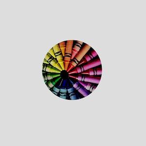 Crayon Color Wheel Mini Button