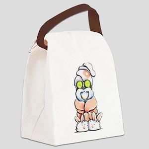 Shih Tzu Spa Canvas Lunch Bag