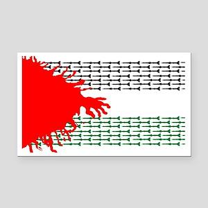 palestine Rectangle Car Magnet