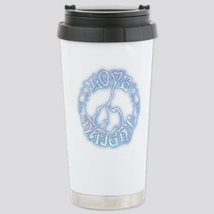 Love-Peace-Haight Stainless Steel Travel Mug