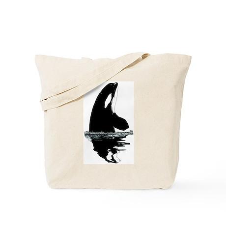 Orca Killer Whale Tote Bag