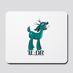 TL;DR Teal Deer Mousepad