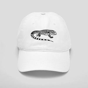 Black And White Tegu Cap