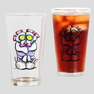 Spa Maltese Drinking Glass
