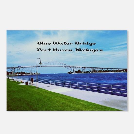 Blue Water Bridge  Postcards (Package of 8)