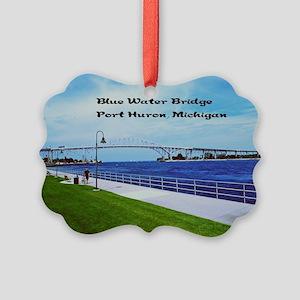 Blue Water Bridge  Picture Ornament