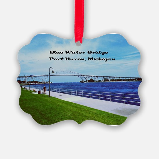 Blue Water Bridge  Ornament