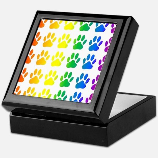 Cute Rainbow Keepsake Box