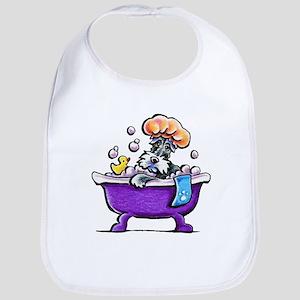 Schnauzer Bath Bib