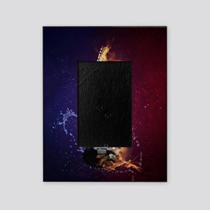 Cool Music Guitar Fire Water Artisti Picture Frame
