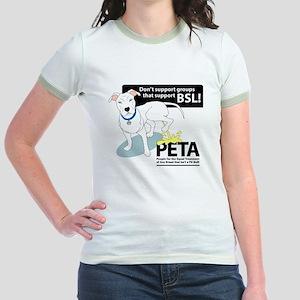 Pit Bull PETA BSL Ringer T-shirt