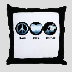 PL Turtle Throw Pillow