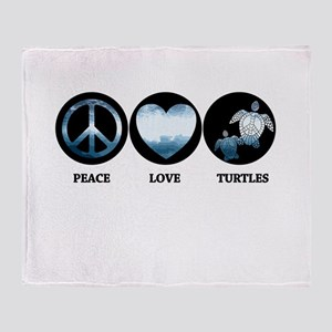 PL Turtle Throw Blanket