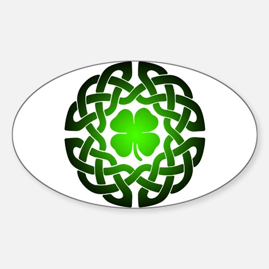 Clover knot Decal