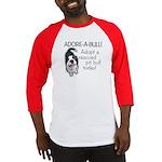 Adore-A-Bull! Pit Bull Baseball Jersey