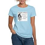 Adore-A-Bull! Pit Bull Women's Pink T-Shirt