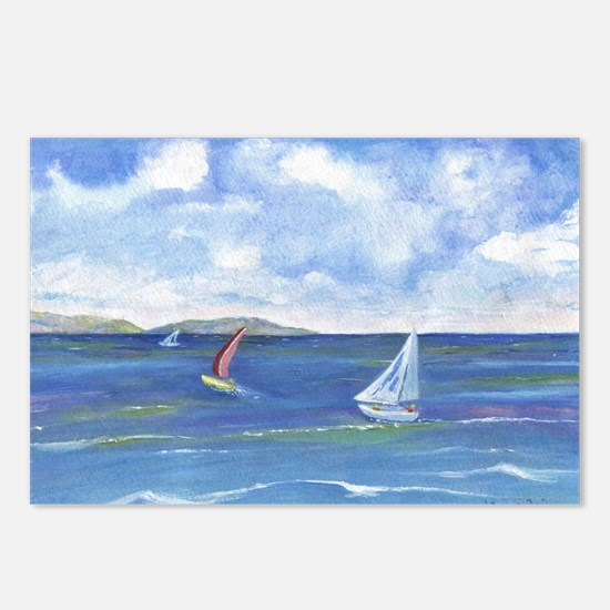 Redondo to Catalina Postcards (Package of 8)