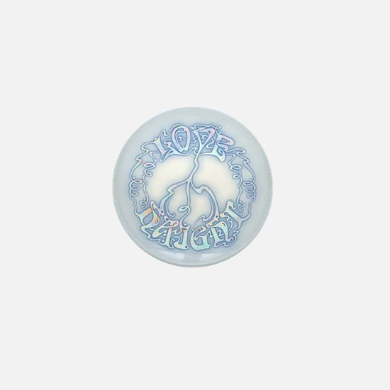 Love-Peace-Haight Mini Button