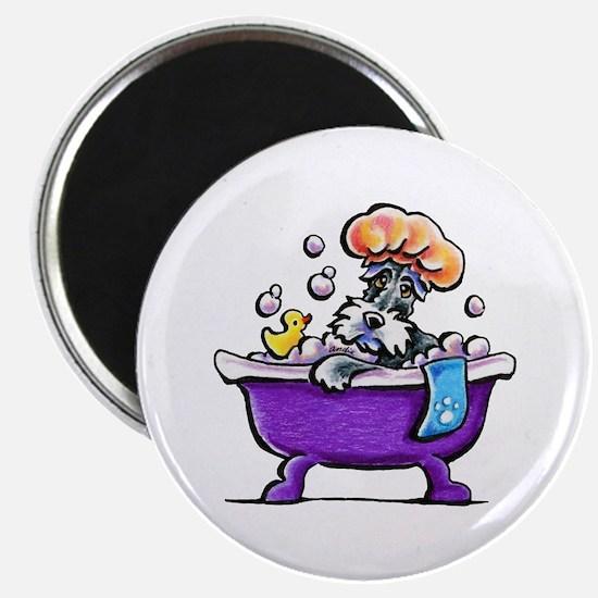Schnauzer Bath Magnets