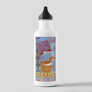 Infinite Love andGrati Stainless Water Bottle 1.0L