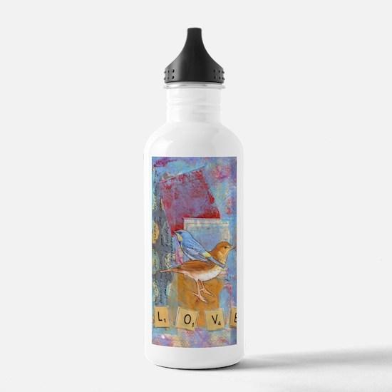 Infinite Love andGrati Water Bottle