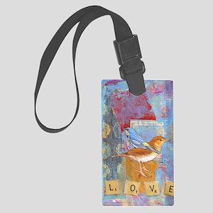 Infinite Love andGratitude Large Luggage Tag