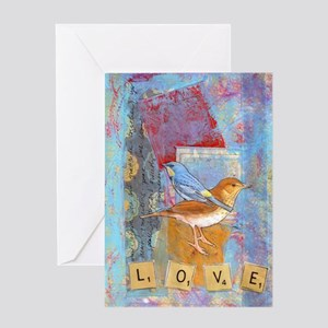 Infinite Love andGratitude Greeting Card
