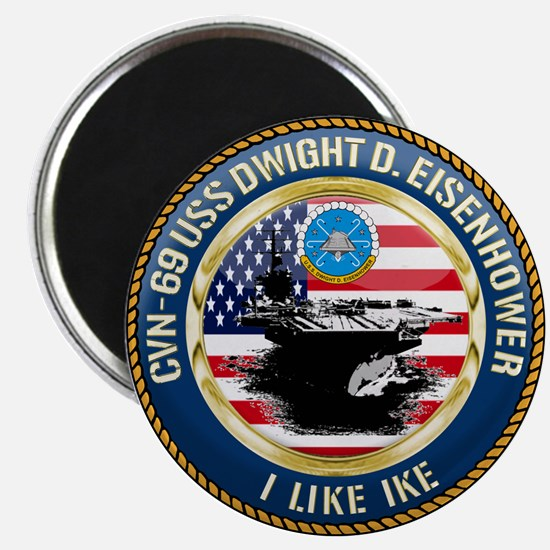 CVN-69 USS Eisenhower Magnet
