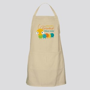 World's Greatest Childcare Worker Apron