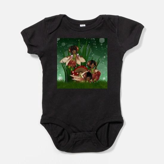 Cute African american Baby Bodysuit