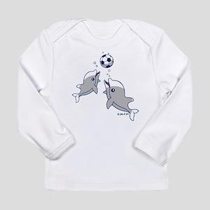 Soccer Dolphins Long Sleeve T-Shirt