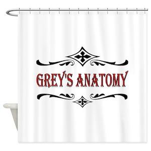 Greys Anatomy TV Show Shower Curtains
