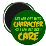 Like I Care Green-Gold Magnet