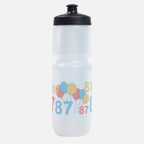 87 years old - 87th Birthday Sports Bottle