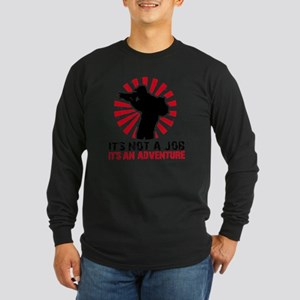 photographer Long Sleeve Dark T-Shirt