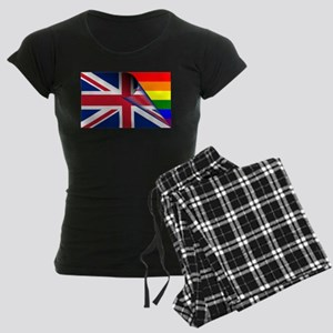U.K. Gay Pride Rainbow Flag pajamas